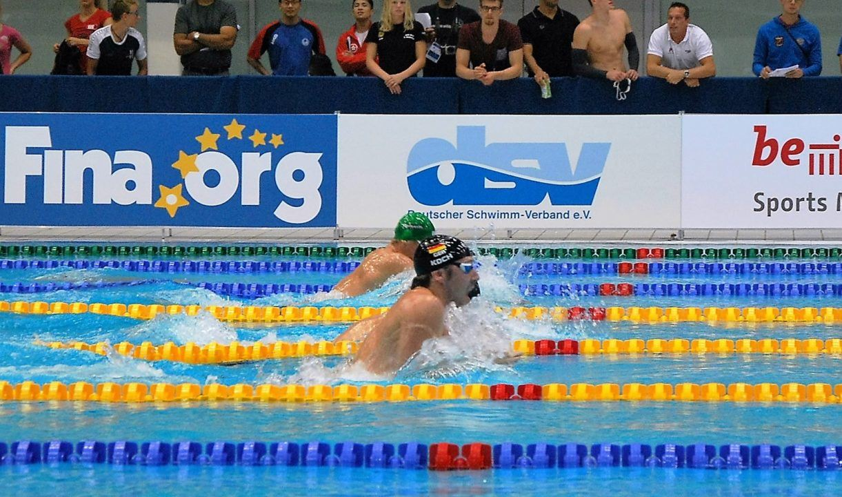 Germany names short course worlds team with 12 swimmers