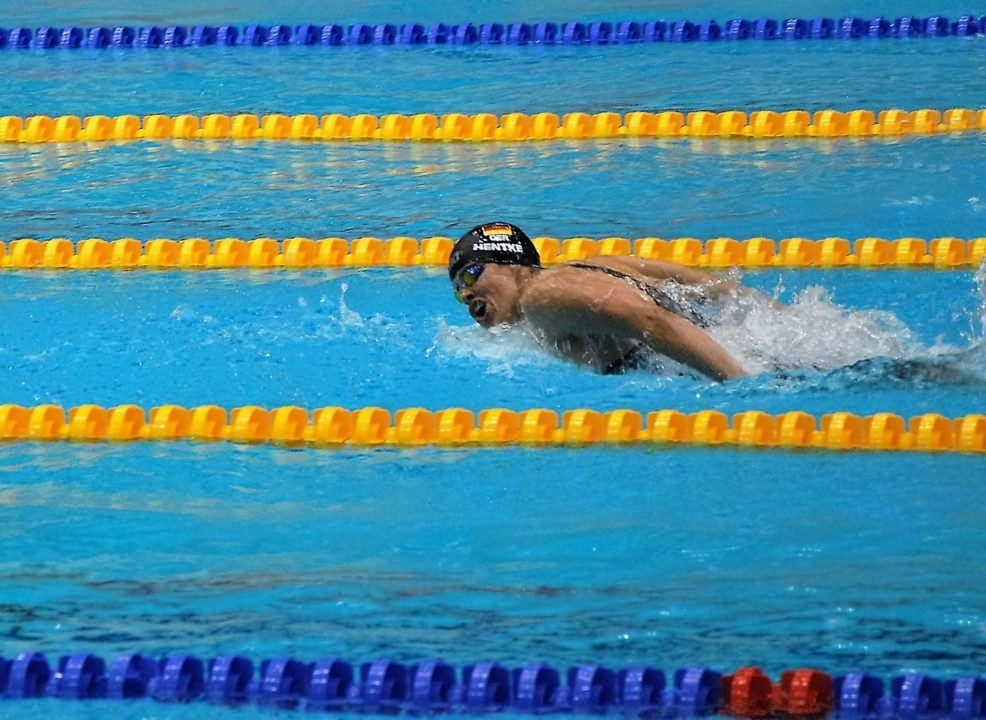 Seven German swimmers cracked nomination times for World Championships
