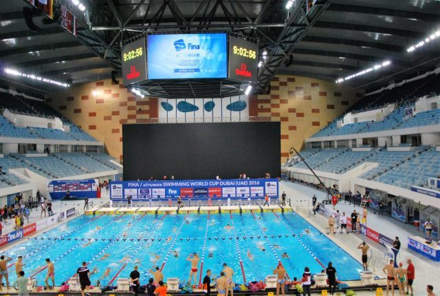 FINA World Cup 2016 at Hamdan Sports Center, Dubai, UAE