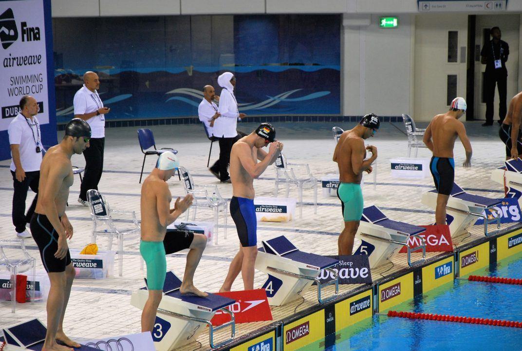 Koch, Heintz als Schnellste ins Finale, FINA World Cup Dubai