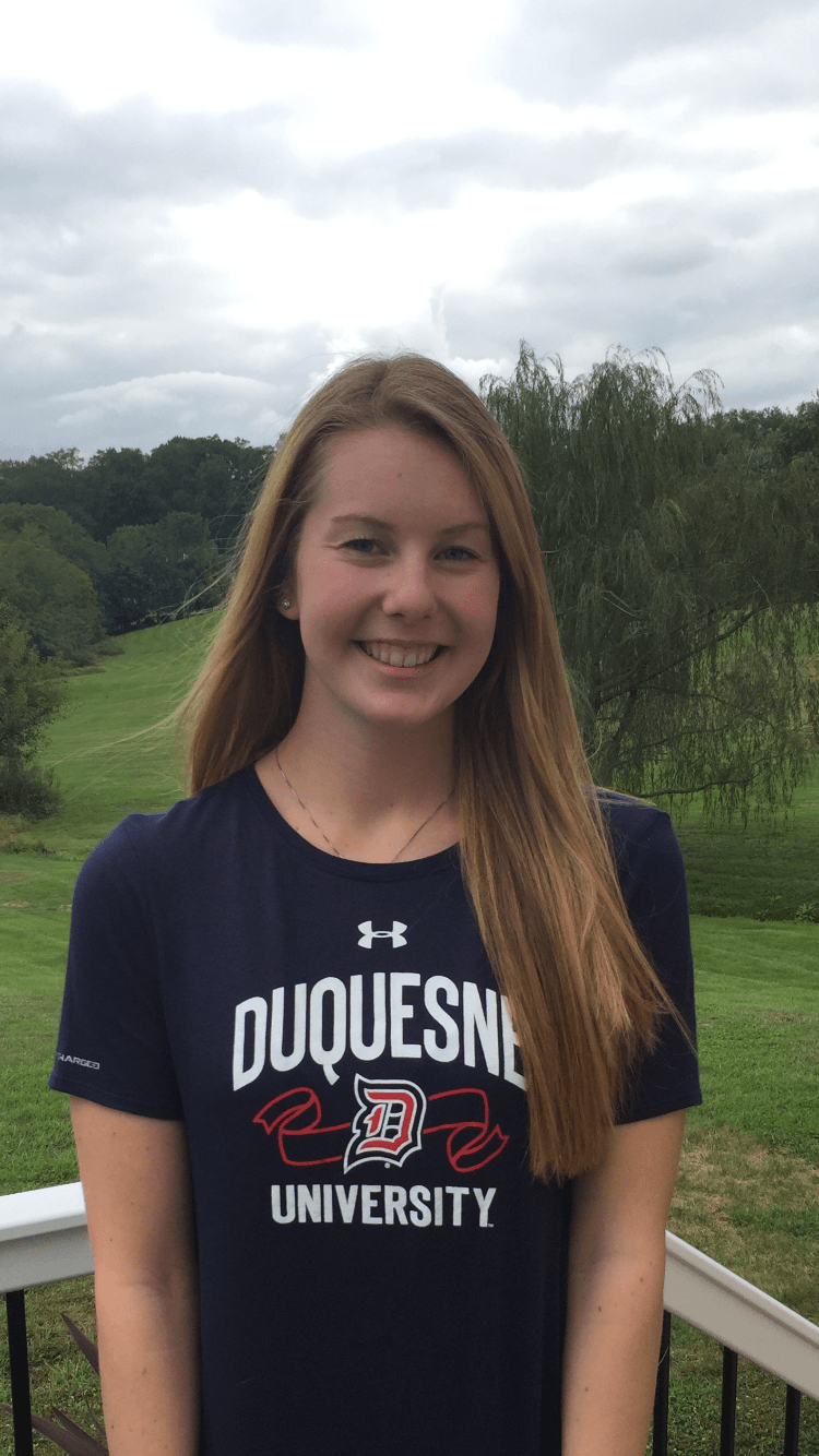 Pennsylvania Backstroker Emma Brinton Gives Verbal To Duquesne