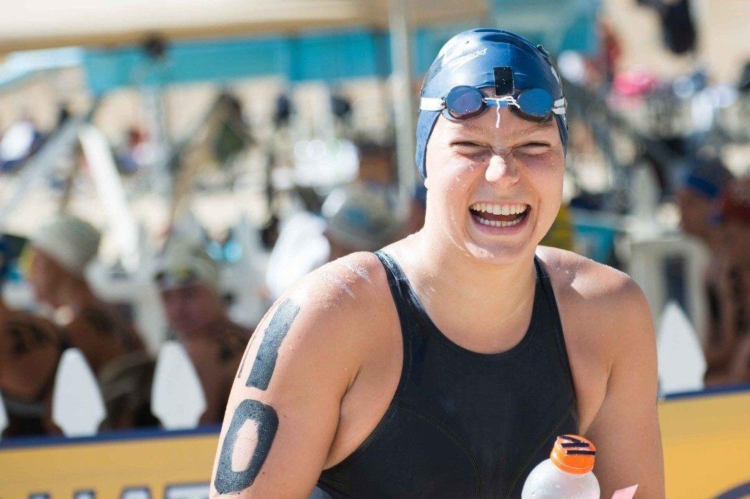 Fike Swim Signs World Champion Swimmer Eva Fabian