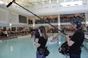 Swim Team Filming