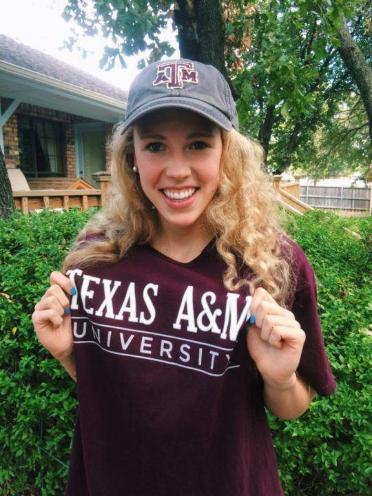 Futures Champ Kara Eisenmann Commits to Texas A&M