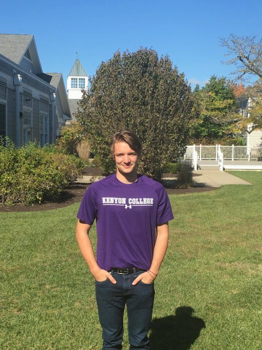 Tim Hagemeister to Join Brother, Jan, in D3; Gives Verbal to Kenyon