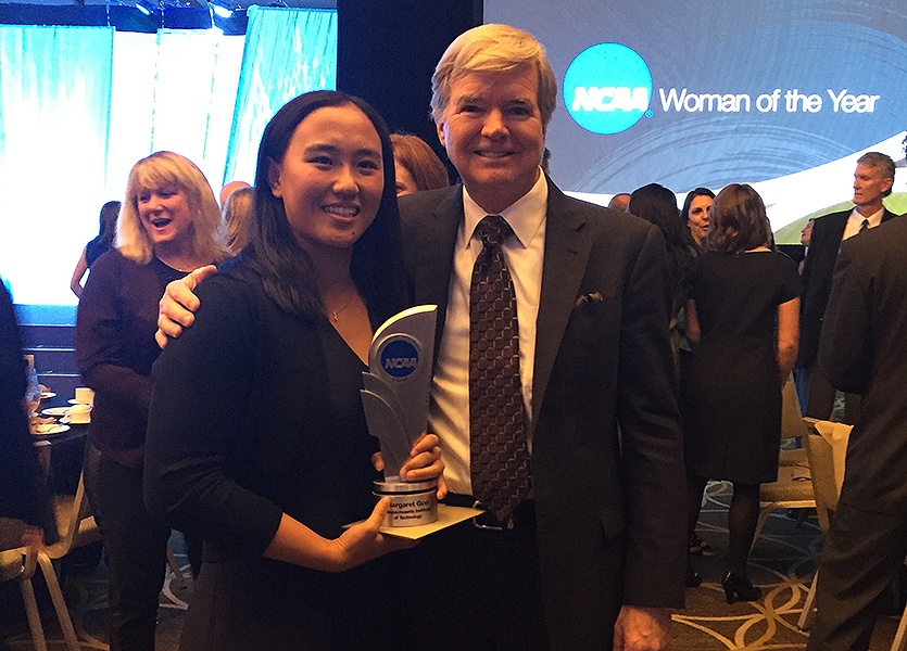 MIT Swimmer Margaret Guo Named 2016 NCAA Woman of the Year