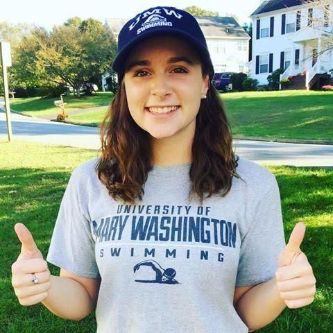 Mary Washington Nabs In-State Breaststroker, Elizabeth Kelly