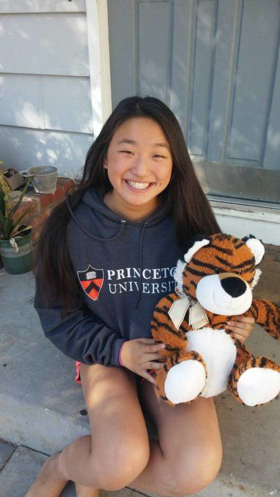 Princeton Secures Verbal Commitment from SCSC Breaststroker Jenny Ma