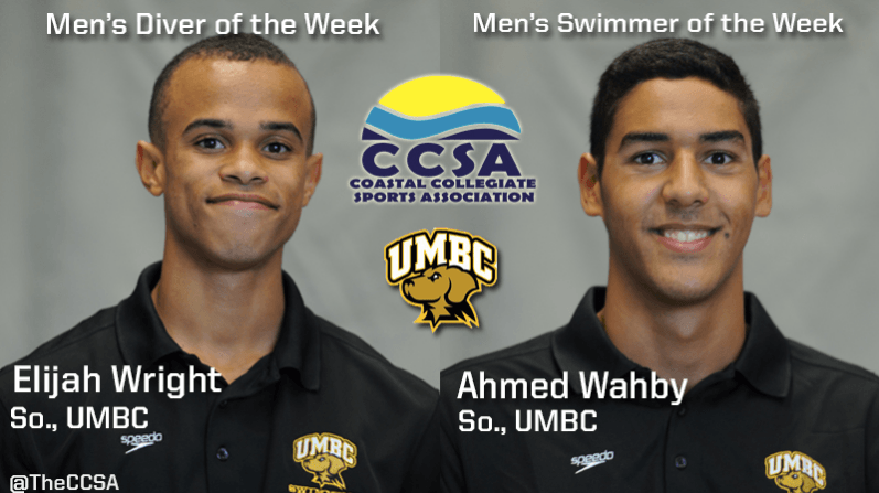 CCSA Announces Wahby and Wright for Male Weekly Honors
