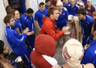 American University Swimming via American University Athletics