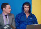 #PhelpsFace Meets Jim Parsons In New Commercial (Watch)