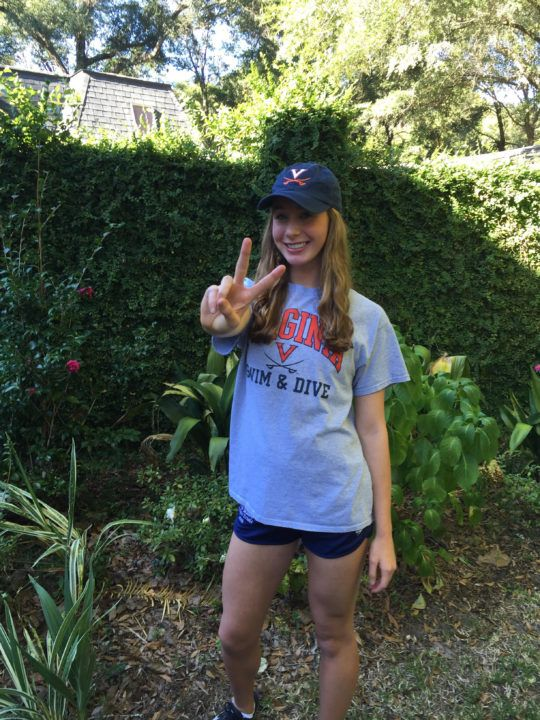 #18 Paige Madden Verbally Commits to Swim at UVA in 2017-18