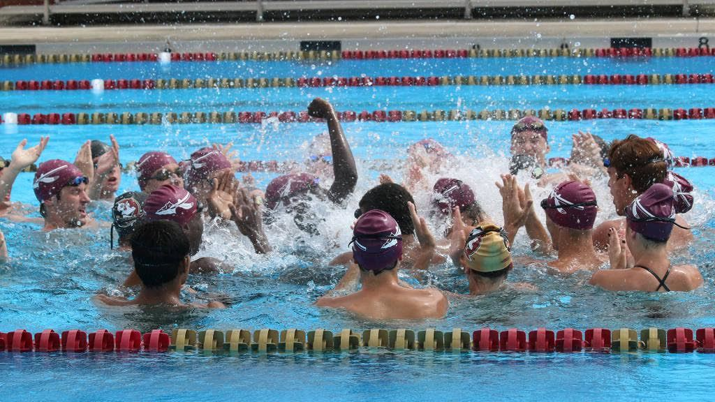 FSU Men Set Pool Record on Day 2 vs. Virginia Tech and Duke