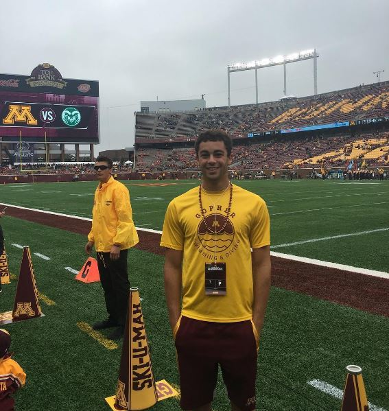 Kansas' Jordan Portela Gives Verbal to University of Minnesota