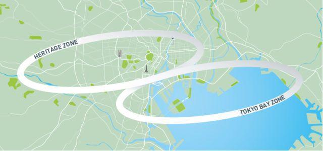 Venue Map, courtesy of Tokyo2020.jp