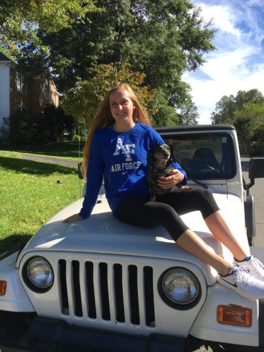 56.2 100 Backstroker Kylie Stronko Verbally Commits to Air Force