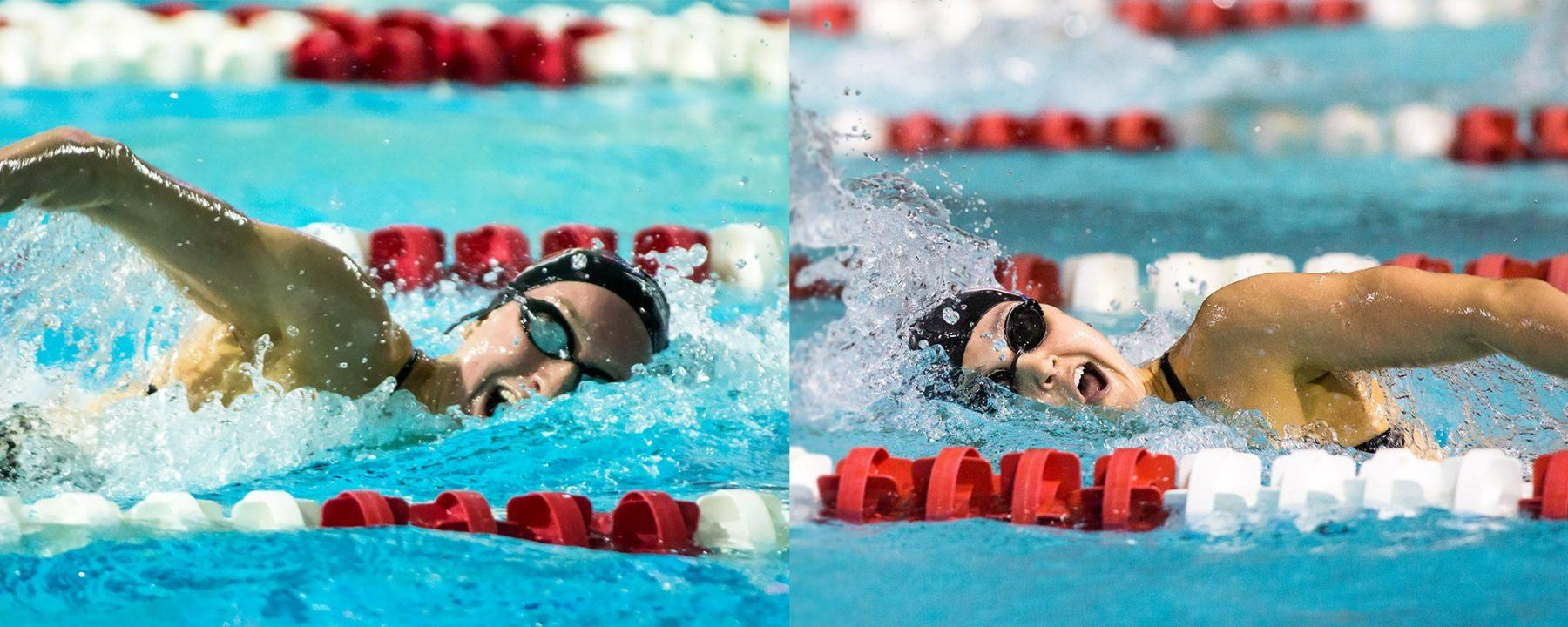 Rachel Muller And Hannah Moore To Swim At Winter Nationals
