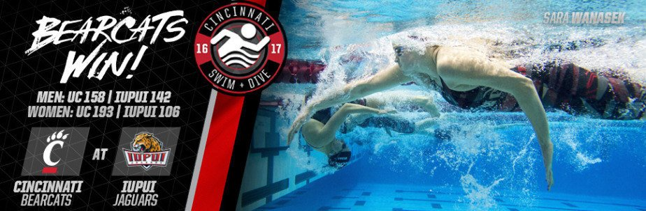 Cincinnati Sweeps IUPUI In Weekend Dual