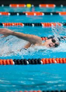 Close Race Between Harvard and Yale, Pool Records Galore, on Day 2 of Ivy Women Champs