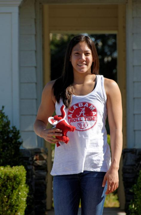 CIF-SS D1 100 Breast Champ Kaila Wong Verbally Commits to Alabama