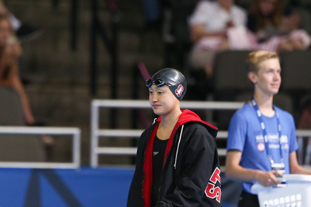 Janet Hu Becomes 4th-Fastest 100 Butterflier and Backstroker Ever
