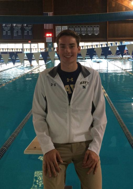 Somerset Valley YMCA's Ryan Waters Gives Verbal Commitment to Navy