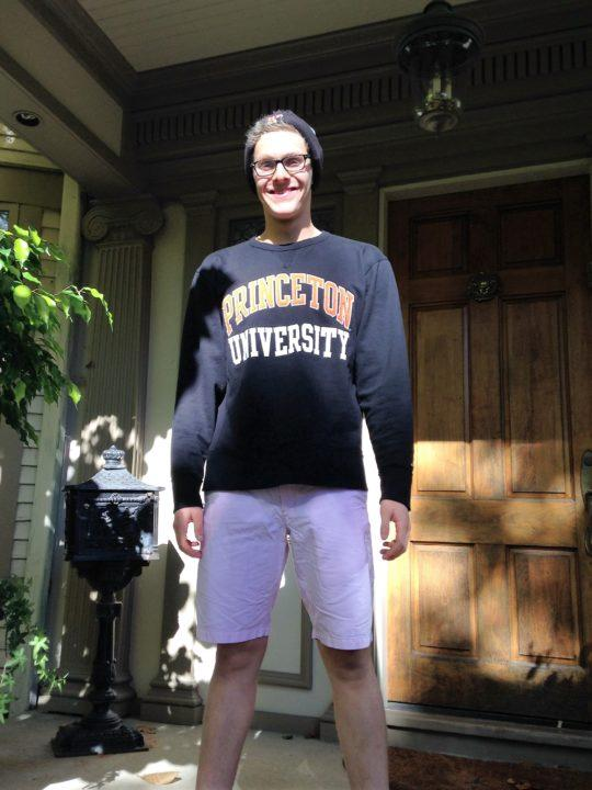 Fast-Rising Distance Freestyler Levy Nathan Verbally Commits to Princeton