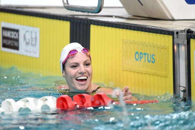 Emily Seebohm, courtesy of Swimming Australia