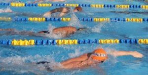 Dupont Smashes Personal Bests at Bolles School Sharks Intrasquad