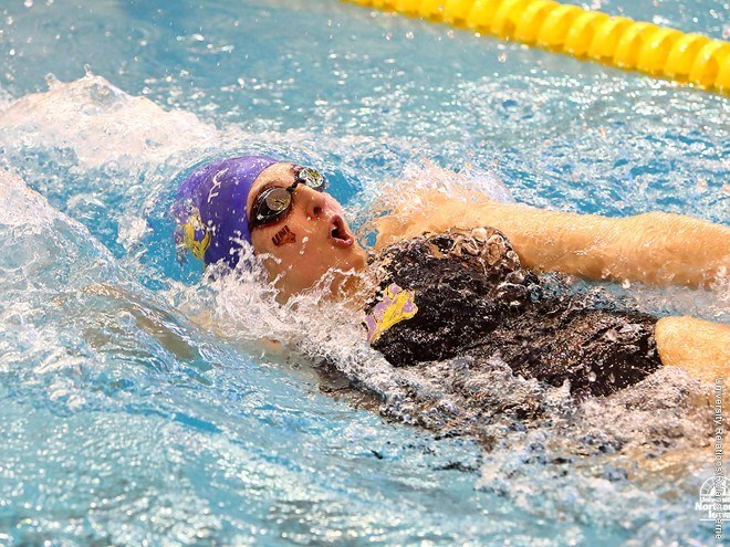 Northern Iowa Women's Swimming Crushes South Dakota State