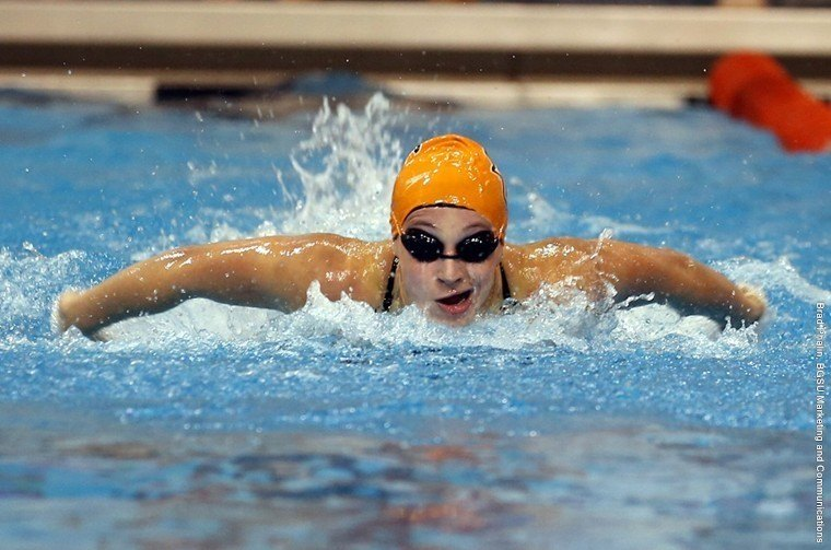 Bowling Green Swims Past Ball State 170-130
