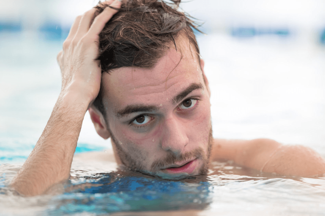 Italian Olympic Gold Medalist Paltrinieri Back Into The Water In Rome