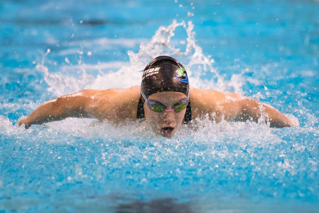 Backstrokers Smith and Seidt Break Through in Women's 200 Fly