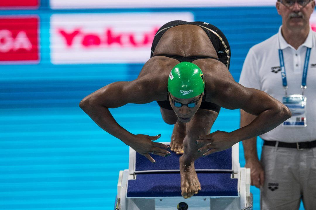 Alia Atkinson Named to Carry Jamaican Flag at Commonwealth Games