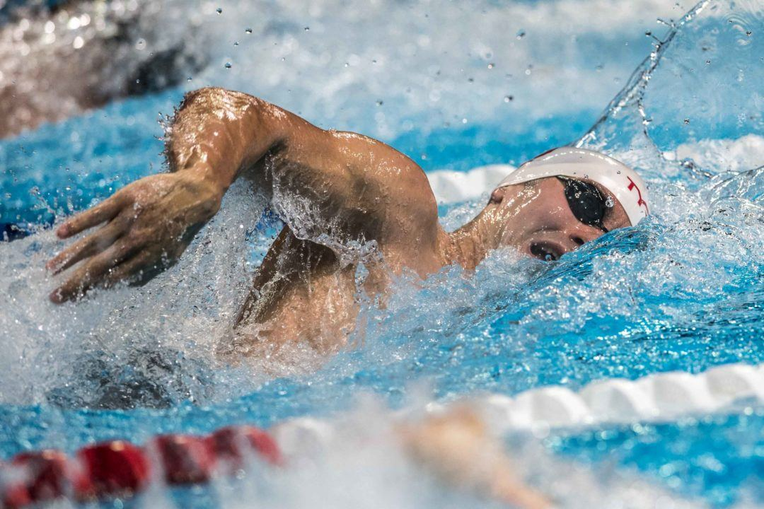 Indiana Men Wrap Dual Meet Season Undefeated With Win Over Louisville