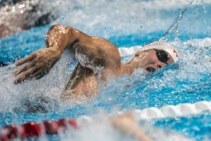 Blake Pieroni Sets New Big Ten Conference 100 Free Record with 41.44