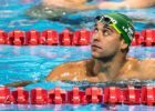 Watch: Chad Le Clos Reacts To Winning Gold In The 200 Fly