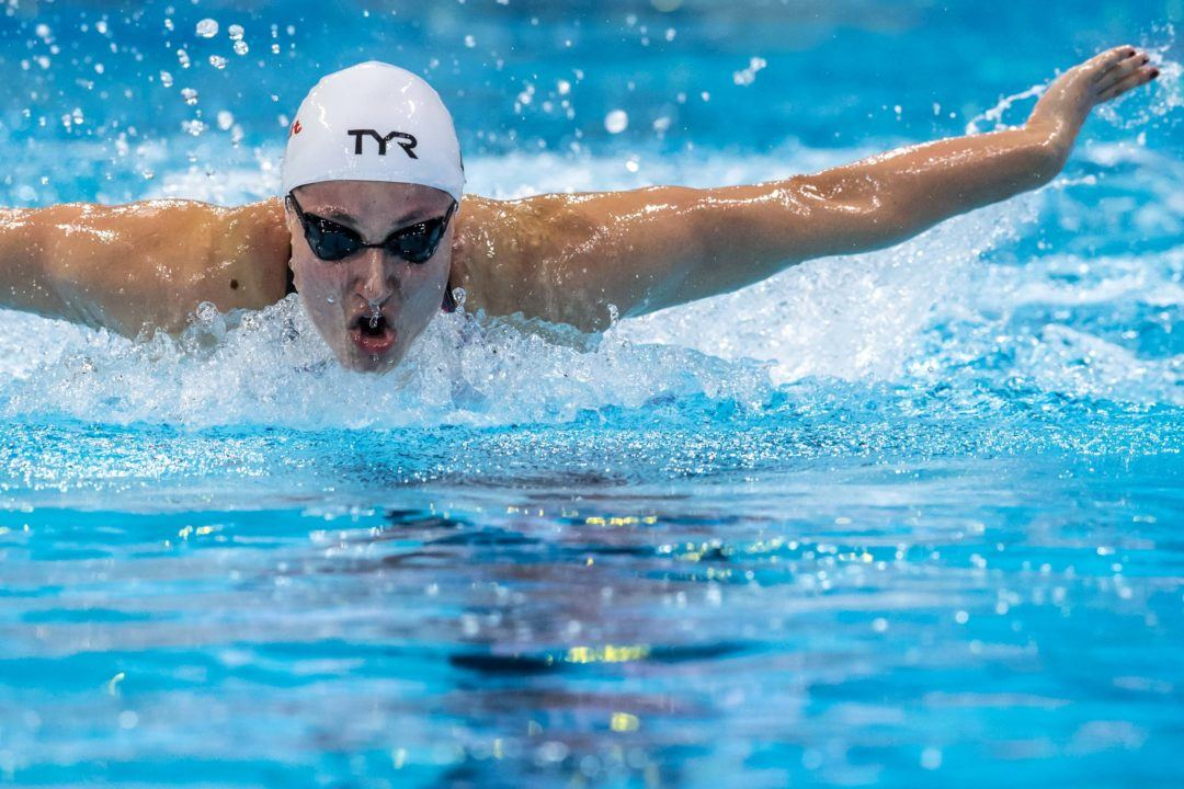 Emilie Beckmann Snags 50 Fly Euro SC C'ships Qualification