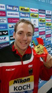 Kurzbahn-WM: Marco Koch mit zweitbester FINA Punktewertung