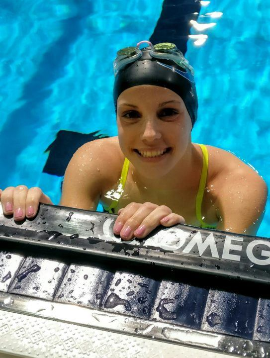 Regan Smith Smashes 13-14 NAG Record With 52.2 100 Fly at Winter Jrs