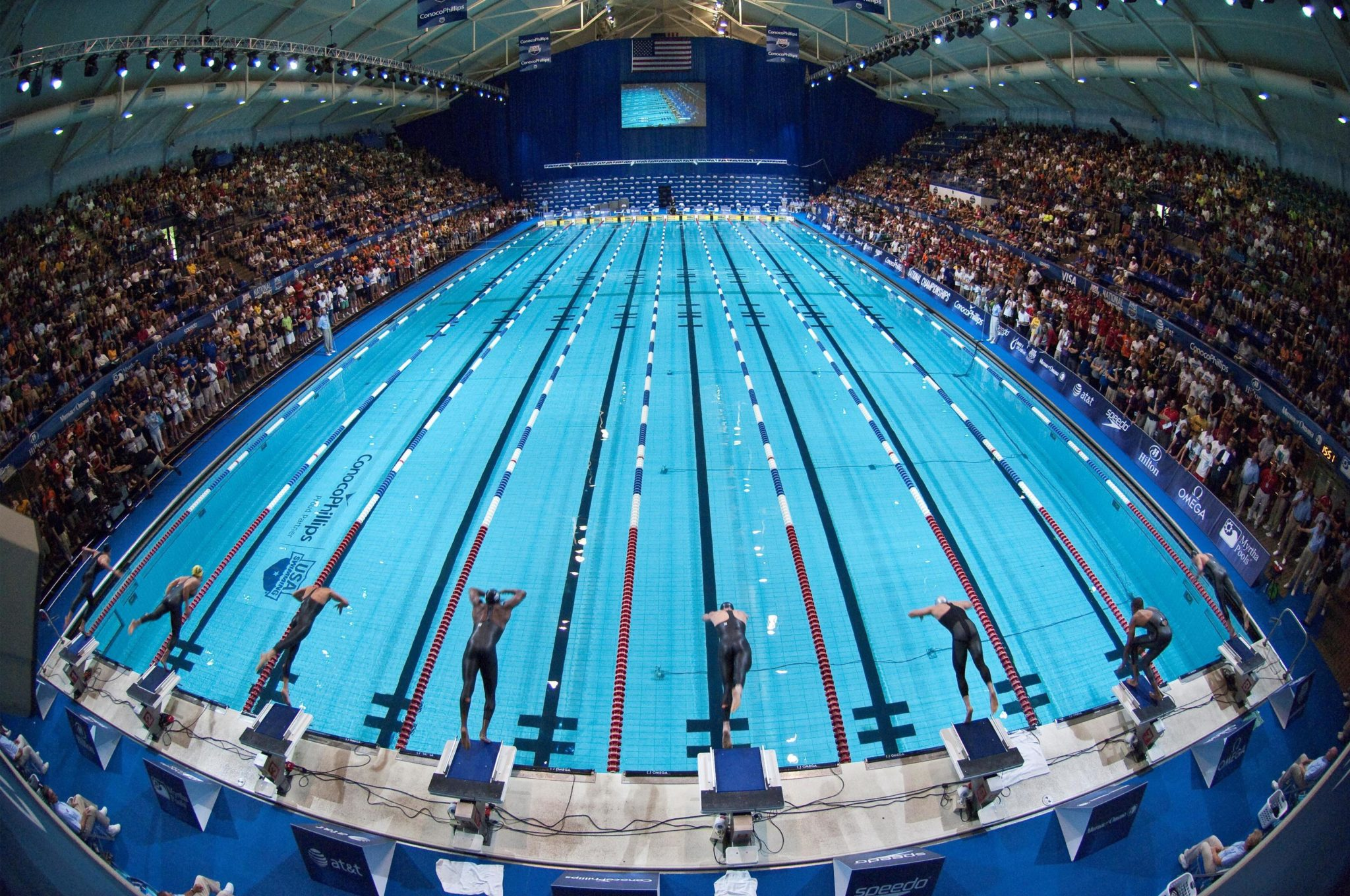 Natatorium Design From A Racer S Point Of View