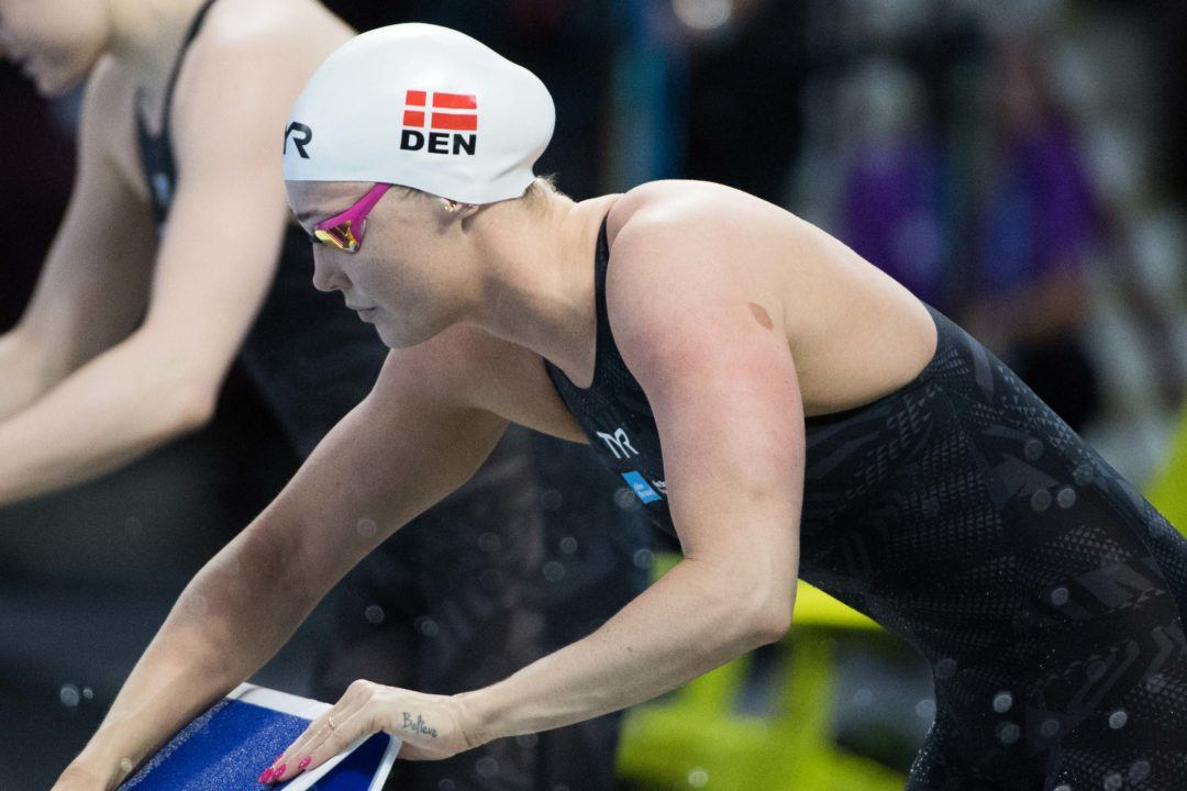 Ottesen Readies For World C'ships At Danish Int'l Swim Cup