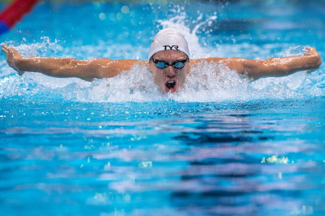 Desplanches Blasts World's #9 400 IM on Day 2 of French Nationals
