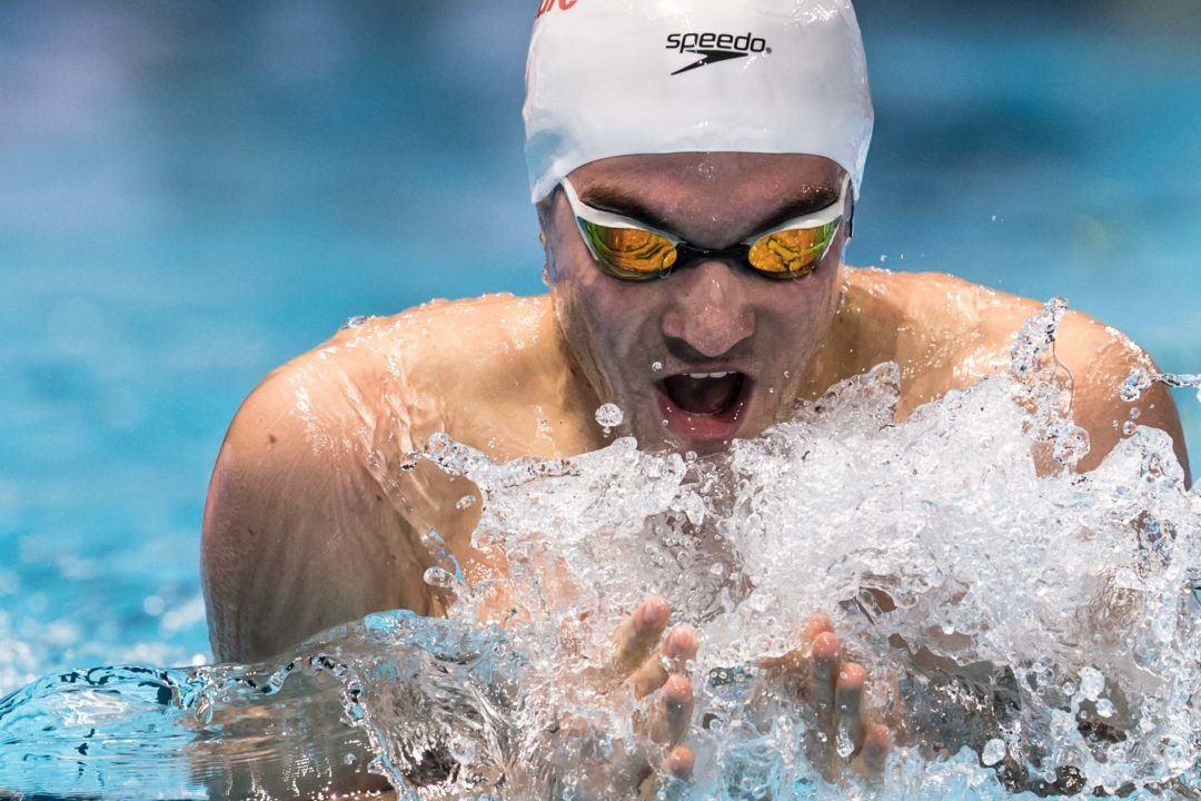 Joan Lluís Pons, mejor nadador español en 2018 para los Swammy Awards