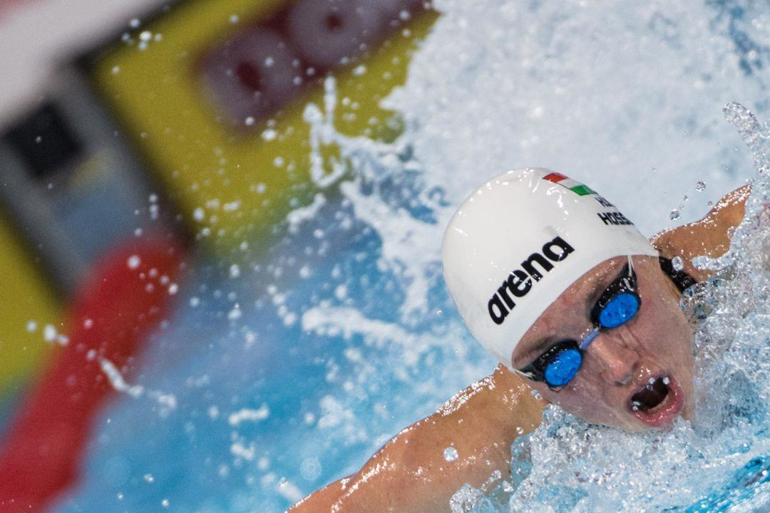 Hosszu Scores Double Wins On Day 1 Of Golden Tour In Nice
