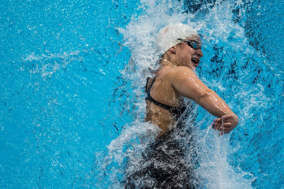 Leah Smith Clocks World's 4th Fastest 800 To Open Charlotte Ultraswim
