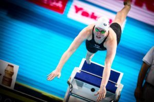 Lilly King Posts the Fastest 50 Breast Relay Split in History at B1Gs