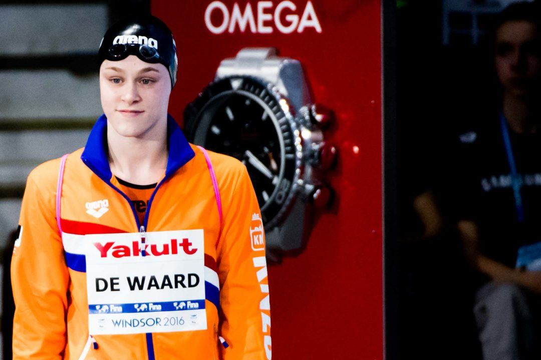 Maaike de Waard Hits 28.5/1:01.8 Backstrokes At KNZB Challenger Day 2
