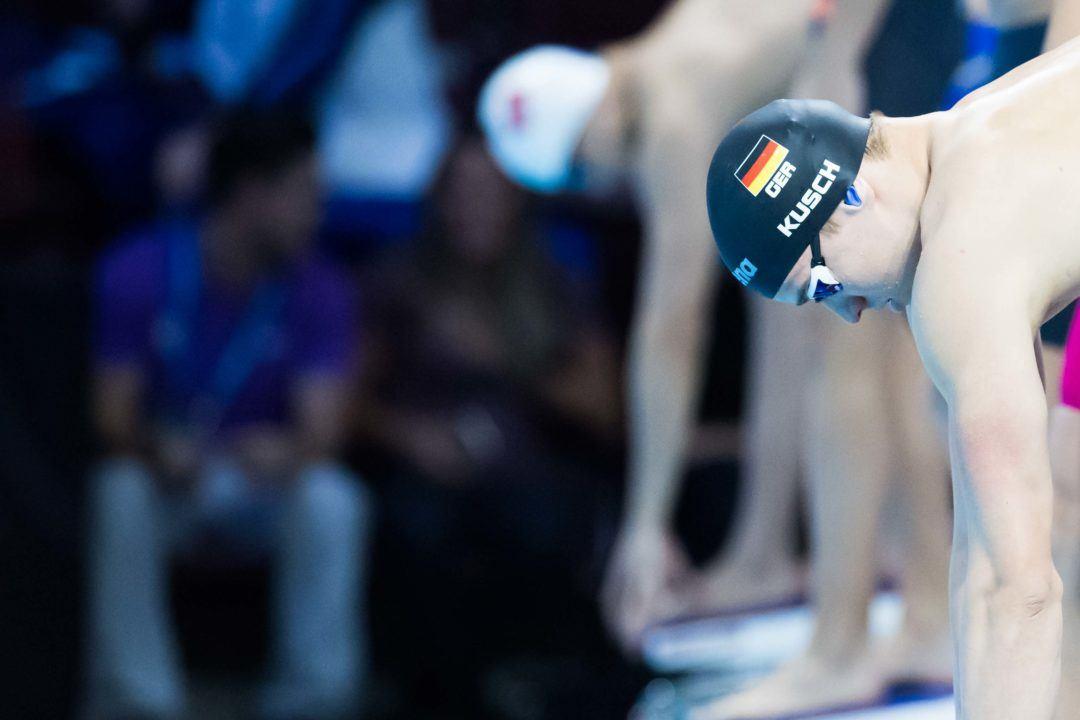 Kurzbahn-WM: Marius Kusch Vierter über 50 m Schmetterling