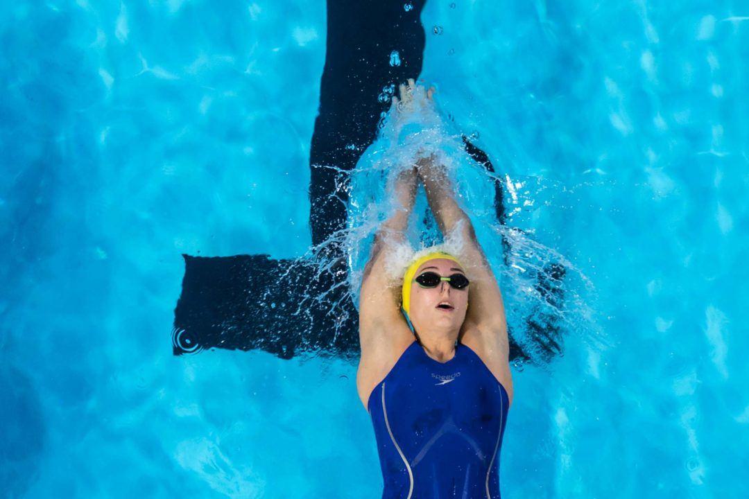 Dolfin Swim of the Week: Atherton's 100 Back an ISL Lewisville Winner